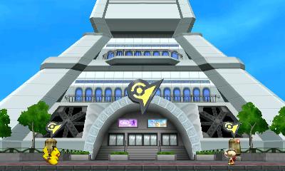 Lumiose City (Pokémon) Stage.