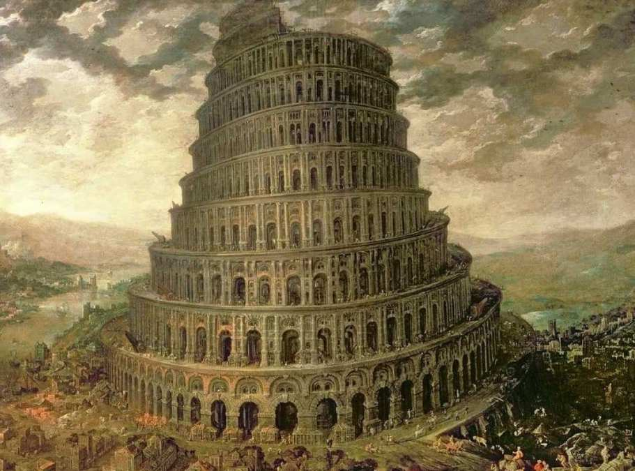 Fall of the Tower of Babel