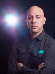 Portrait of Erick Redcloud - Flare