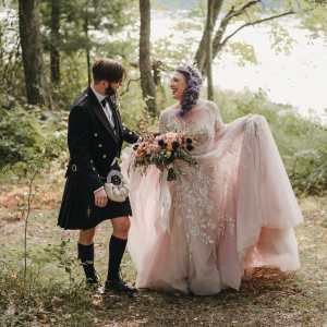 On Twin Lakes Wedding