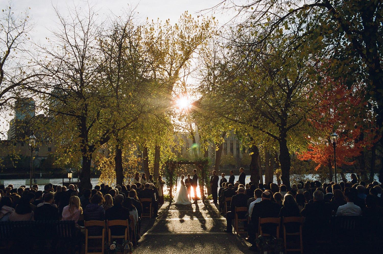 Nicollet Island Outdoor Ceremony