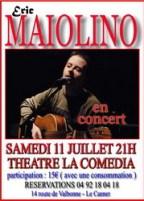 Eric Maïolino en concert à la Comédia