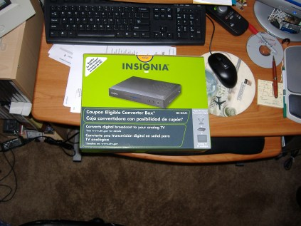 Insignia Digital TV Converter Box