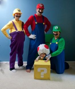 The Mario Bros, Wario, and Toad