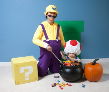 Wario Cooking Toad