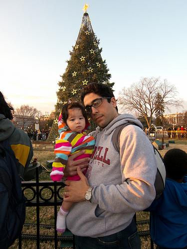 At the National Christmas Tree