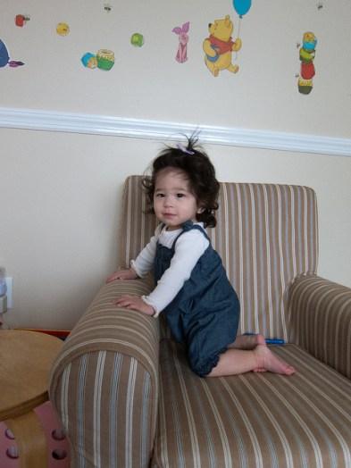 Scarlett Kneeling