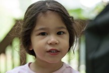 Scarlett plays in the yard-35 - web