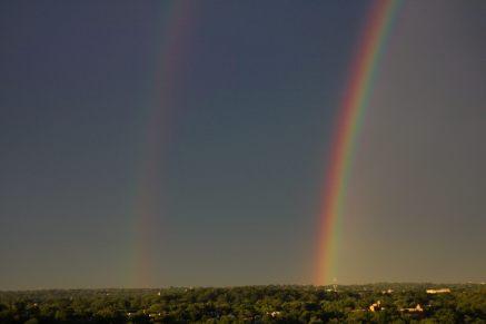 Double Rainbows!