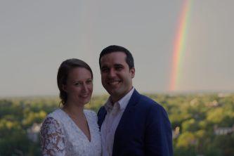 Dan, Katie, and Rainbows!