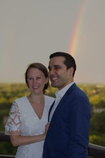 Dan, Katie, and Rainbows!
