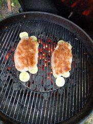 Dizzy Pig Fajita-ish fish tacos