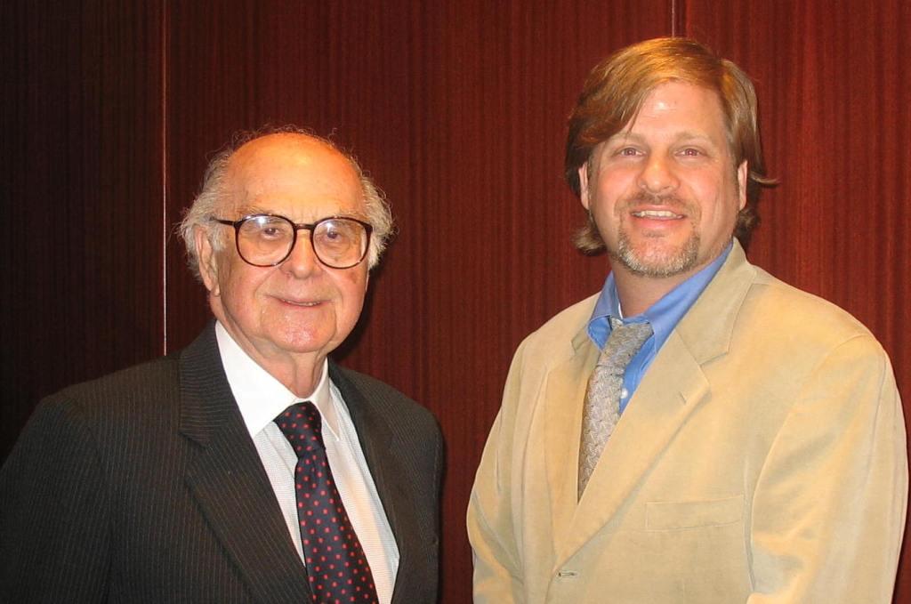 Harold Burson and Eric Schwartzman