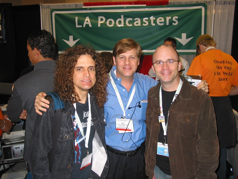 Michael Butler of the Rock and Roll Geek Show, Eric Schwartzman of On the Record...Online and Dan Klass of the Bitterest Pill Podcast