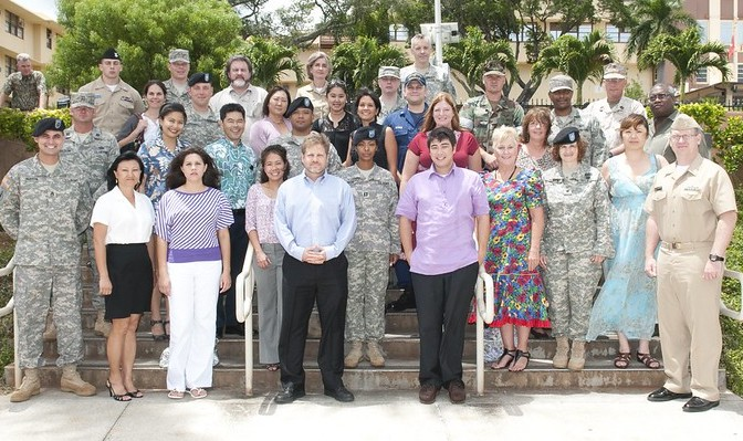 Leading strategic communications exercises for US Pacific Command at Camp HM Smith in Hawaii.