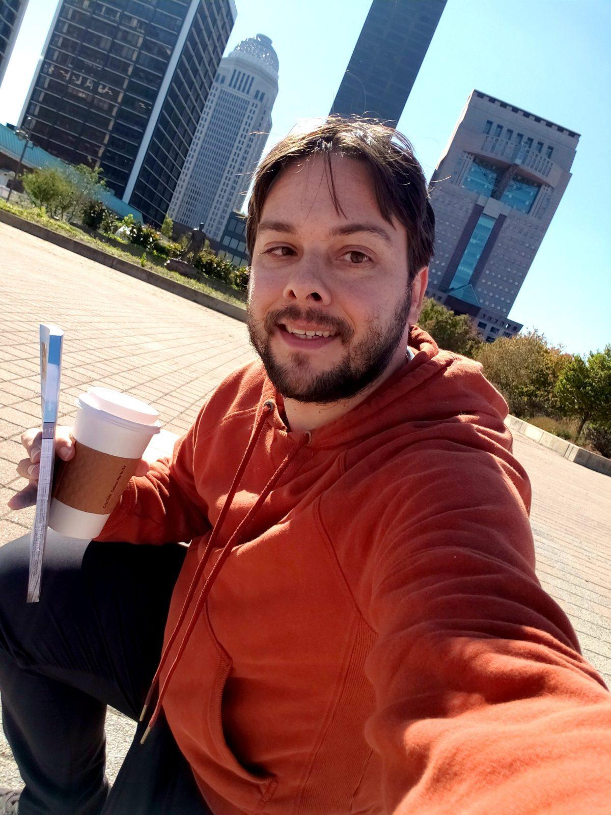 Eric Shay Howard selfie