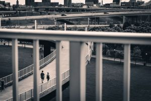 More Shots At the Big Four Bridge With My Canon 50mm Lens