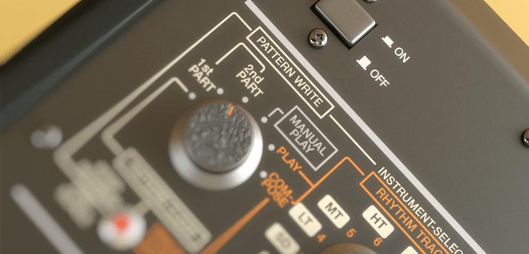 Roland's Classic Drum Machines in 3D