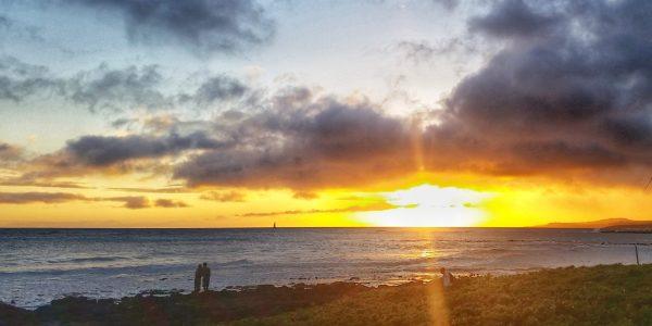 Sunset from Sunrise from Marriott Waiohai Beach Club