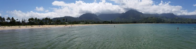 View from Hanalei Pier