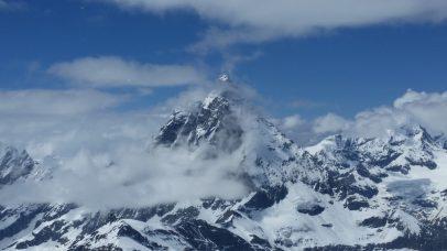 Matterhorn was being shy