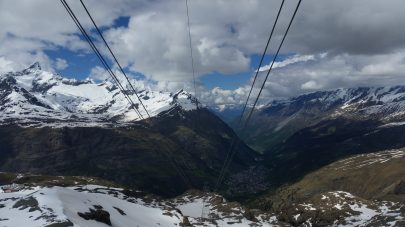 From the cable car