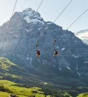 First Flyer at Grindelwald-First
