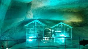 Ice sculptures glaciar palace