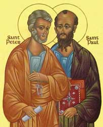 Image result for st peter and paul