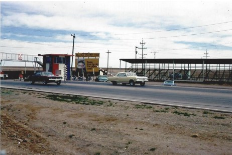 S.E. Corner of Erie Parkway and County Road 5 back in the day. I think it closed down in the early 1970's., but I still see where it was when I drive by. Known as Mile High Raceway Park and also Mountain View Raceway.