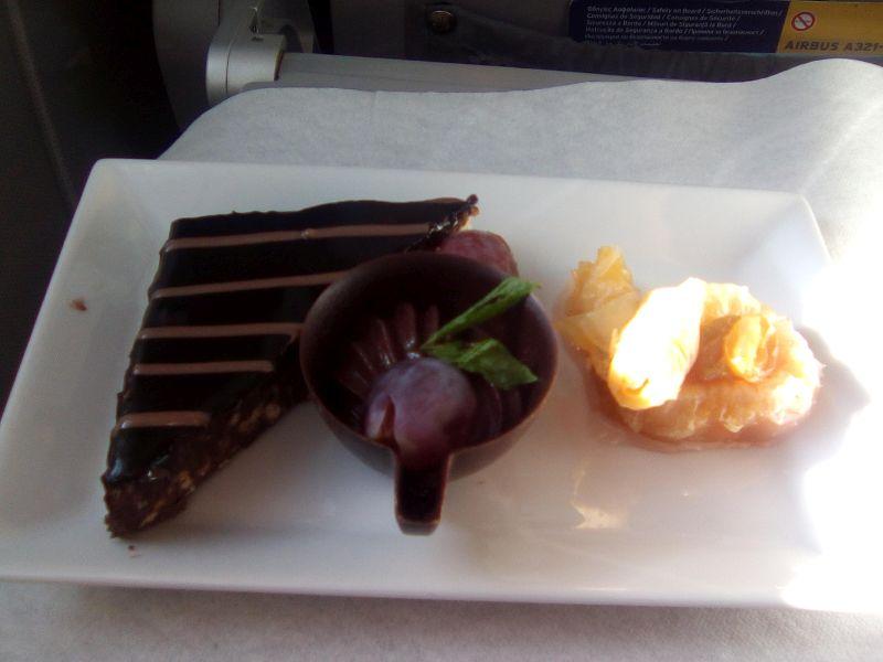Abschiedstour mit Aegean Airlines -Rückflug-