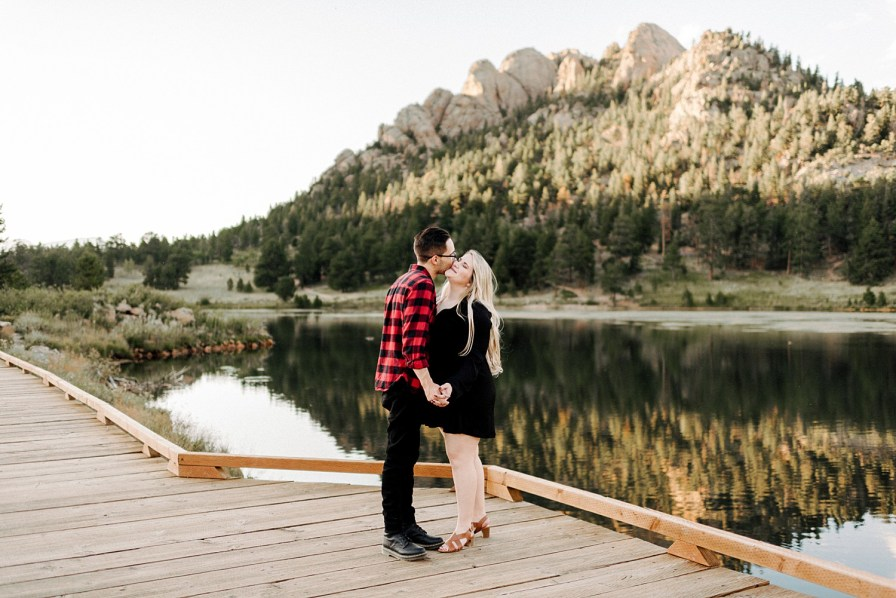 Lily Lake engagement