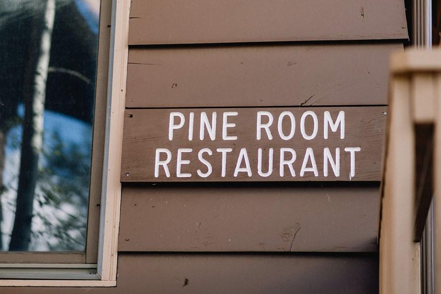 Pine Room restaurant at YMCA in Estes Park