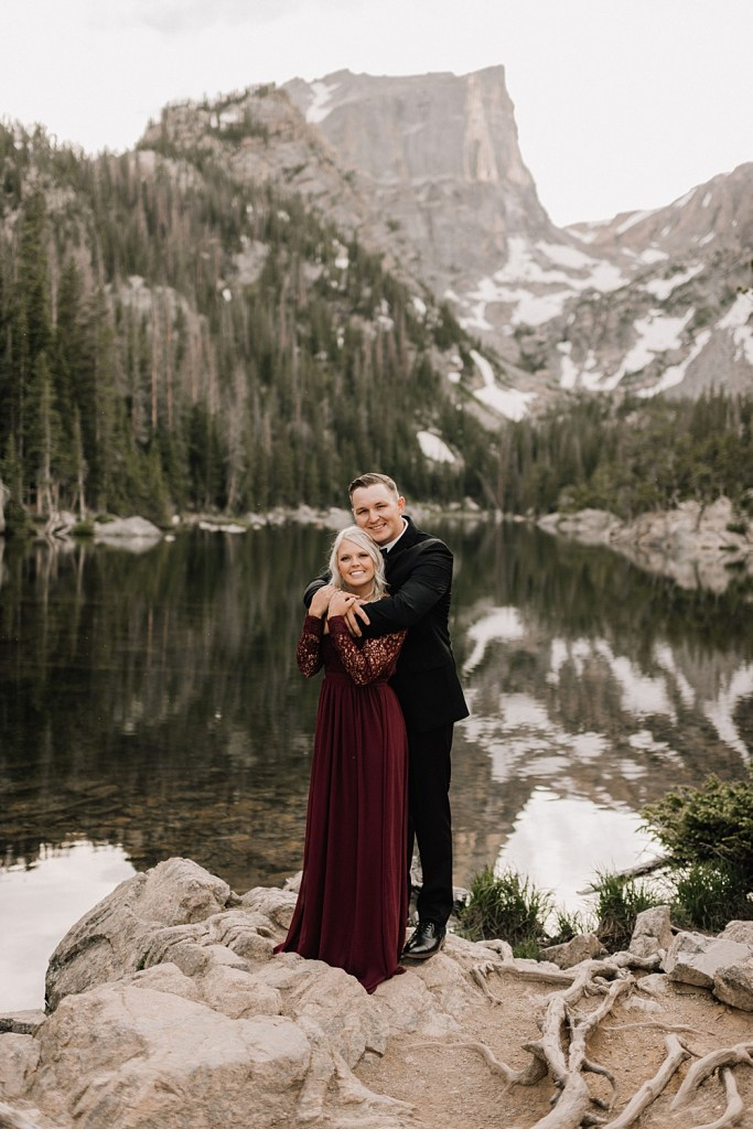 RMNP engagement photos