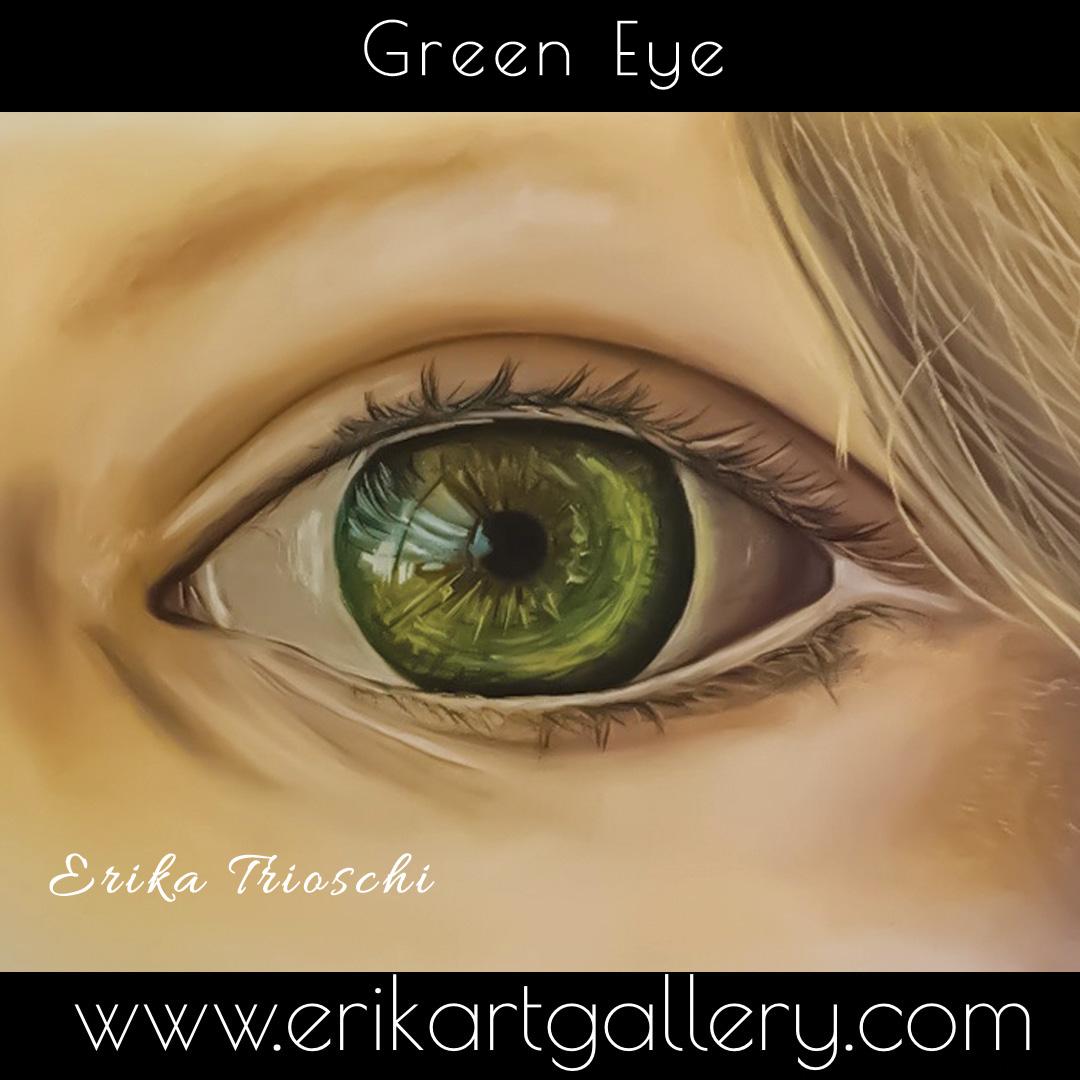 www.erikartgallery.com - Green Eye