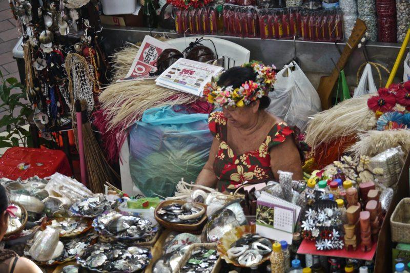 Market Pape'ete French Polynesia