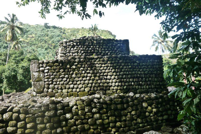 Marae in Tahiti--Driving around Tahiti