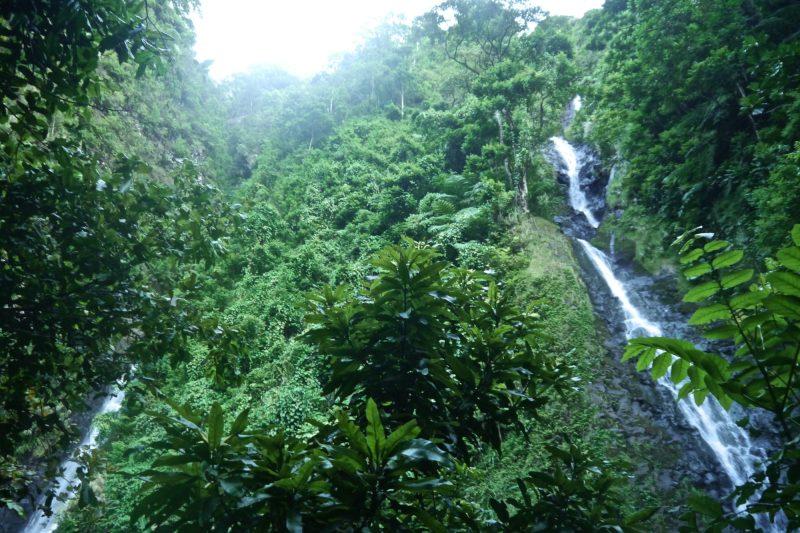 Waterfalls Tahiti Main Island