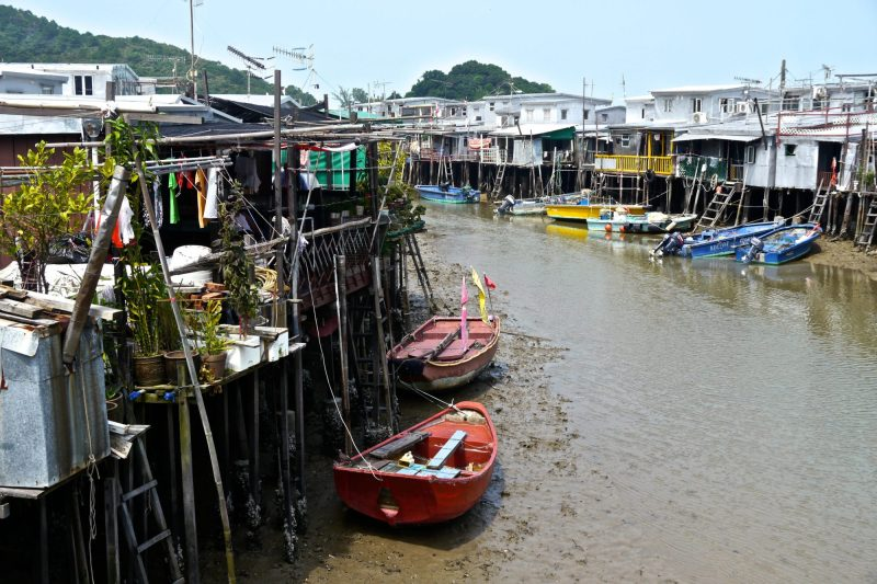 Tai O Fishing Village on my Hong Kong Layover