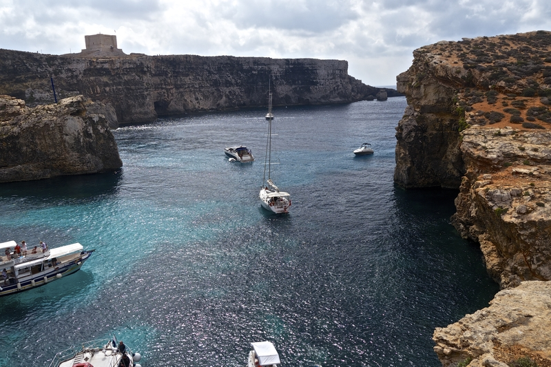 day trip to comino island, St Mary's tower