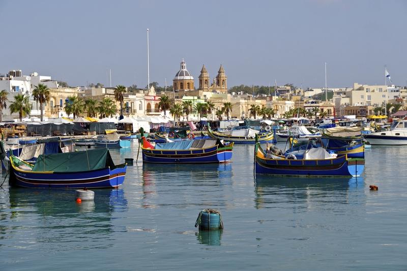 Marxaslokk Harbor, Malta