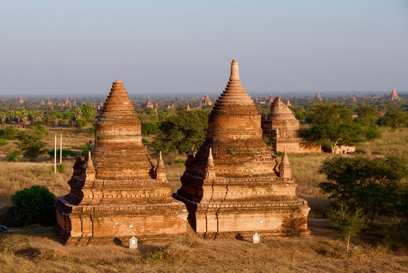 Visiting Lesser-Known Temples during our Three Days in Bagan