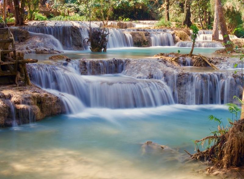 Two Days in Luang Prabang: Kuang Si Waterfall