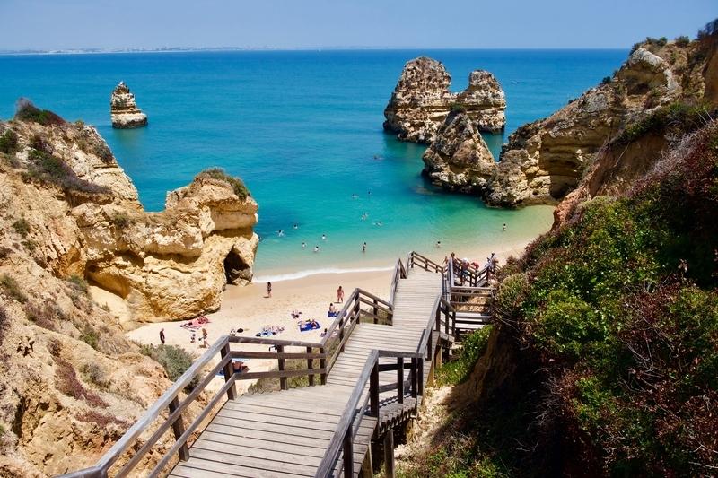 Praia do Camilo Algarve Coast