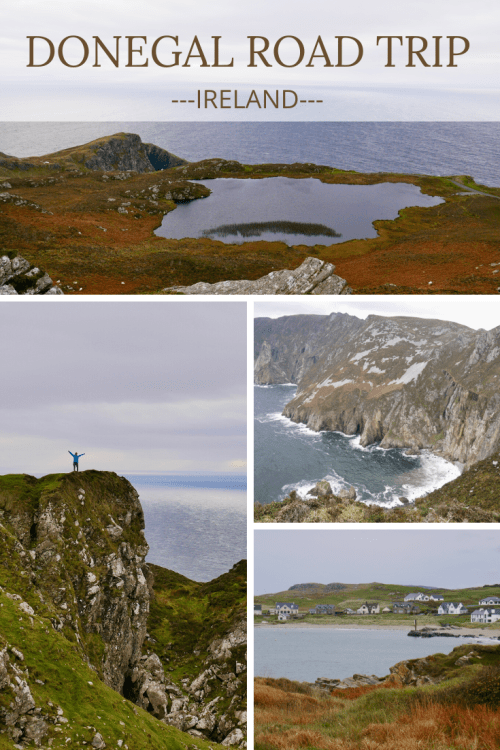 Wild Atlantic Way Route Donegal