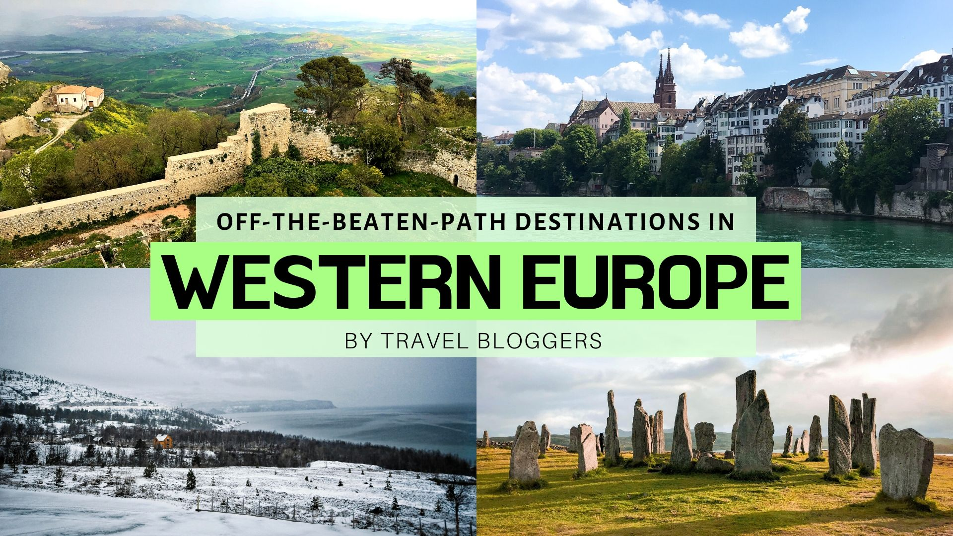Off-The-Beaten-Path Europe Destinations: Western Europe