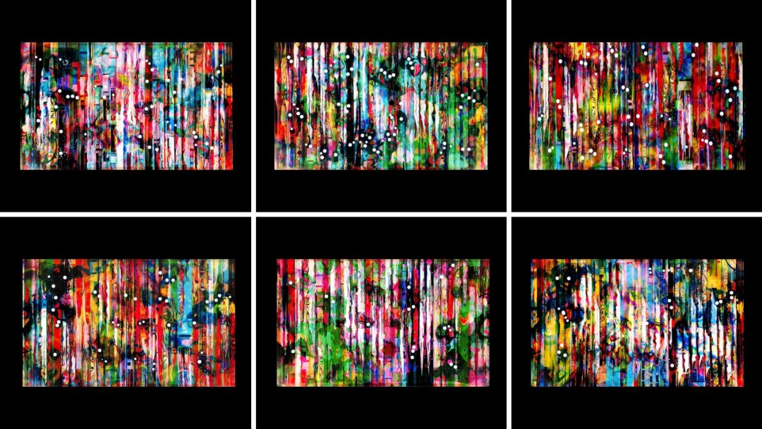Exo Resonance (panels), 2019