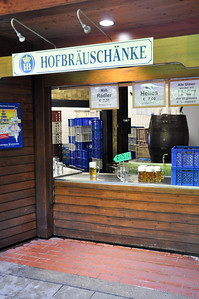 """Beer booth"" in the English Garden"