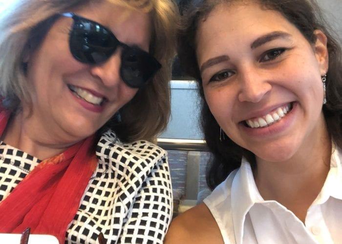 Kia with Dr. Garcia Coll in Puerto Rico.