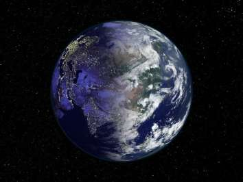 Image of the Earth.